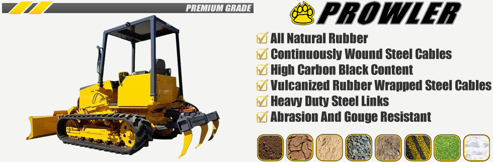 Prowler Dozer Rubber Replacement Tracks