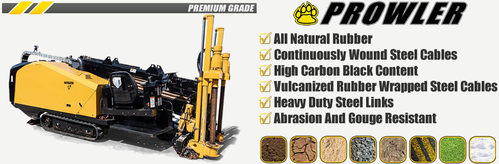 Prowler Driller Rubber Track Sales