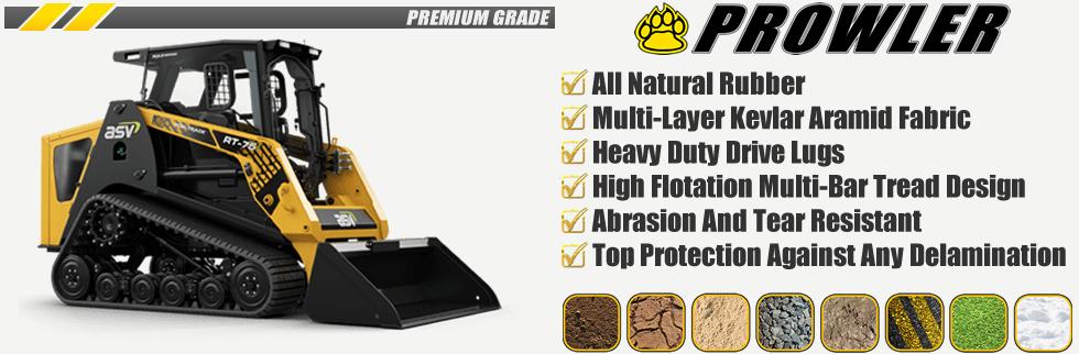 Prowler Multi Terrain Loader Rubber Tracks